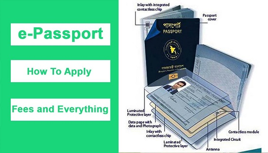 E Passport BD 2020