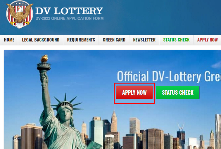 How to Apply DV Lottery