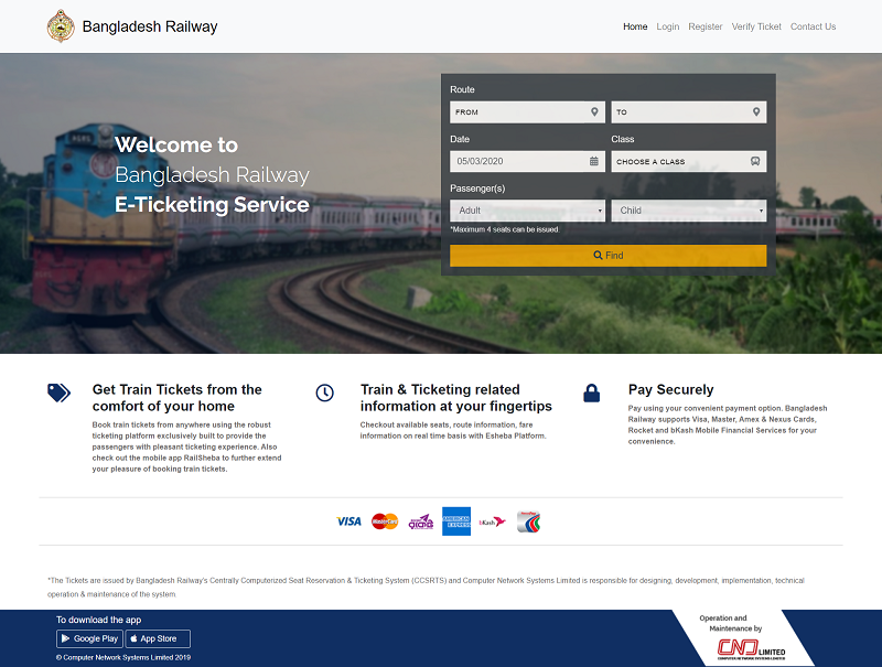 bangladesh railway ticket online