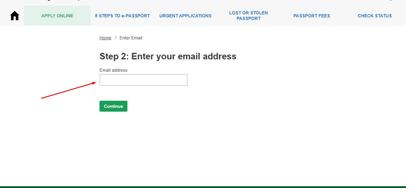 e-passport bd registration