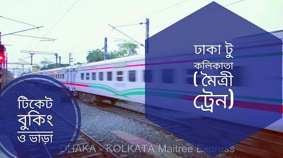 Dhaka to Kolkata Maitree Express Train Schedule