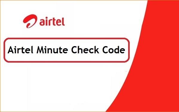 Airtel Minute Check Code BD