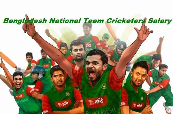 Bangladesh Cricketers Salary