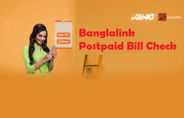 Banglalink Postpaid Bill Check