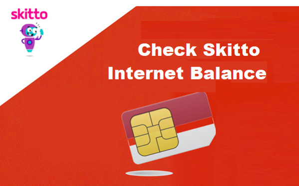 Check Skitto Internet Balance