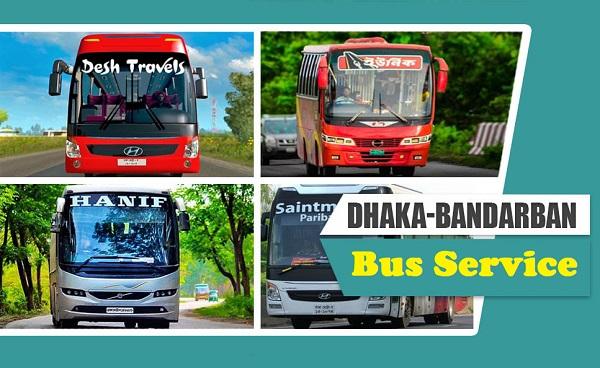 Dhaka To Bandarban Bus Service