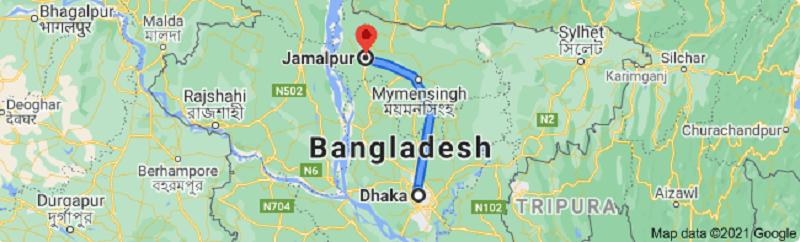 Dhaka To Jamalpur Bus Service | Schedule | Ticket Price | Contact No