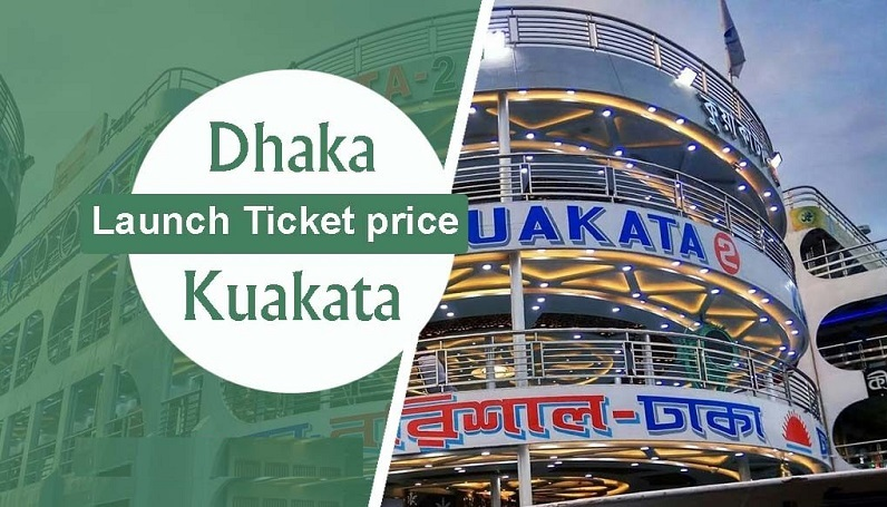 Dhaka To Kuakata Launch Service