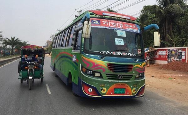 Dhaka To Savar Bus Service