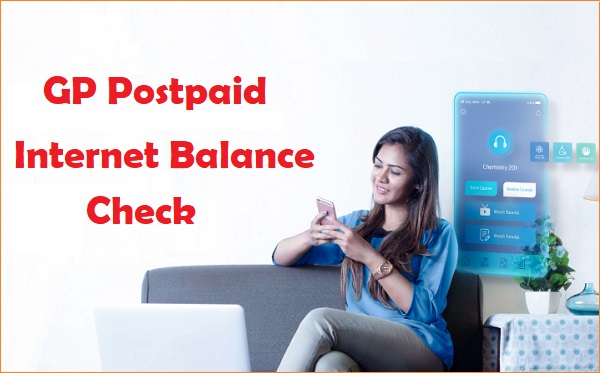 GP Postpaid Internet Balance Check