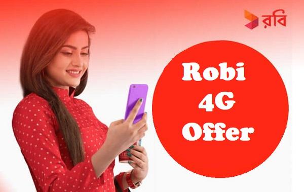 Robi 4G Offer