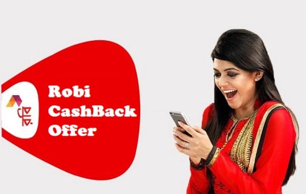 Robi CashBack Offer