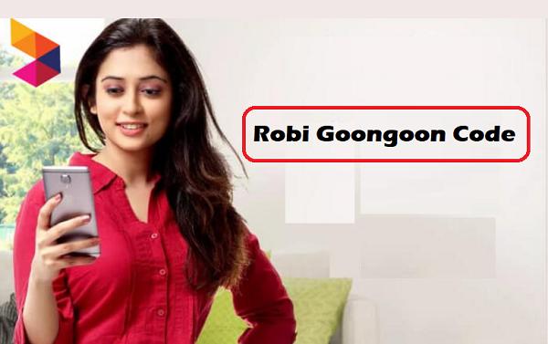 Robi Goongoon Code
