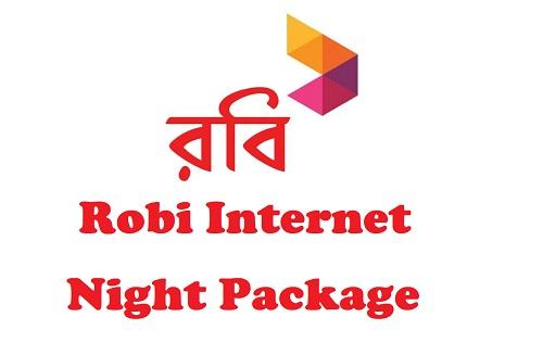 Robi Internet Night Package