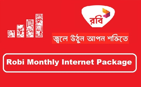 Robi Monthly Internet Package