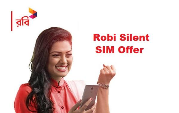 Robi Silent SIM Offer