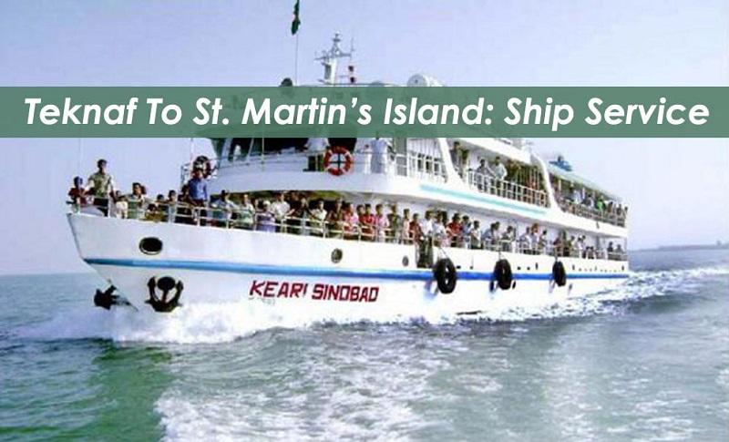 Teknaf to Saint Martin Ship Service