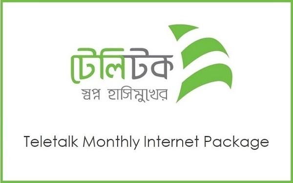Teletalk Monthly Internet Package
