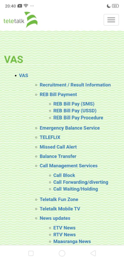 Teletalk All Service Off Code | Teletalk All Service Stop Code